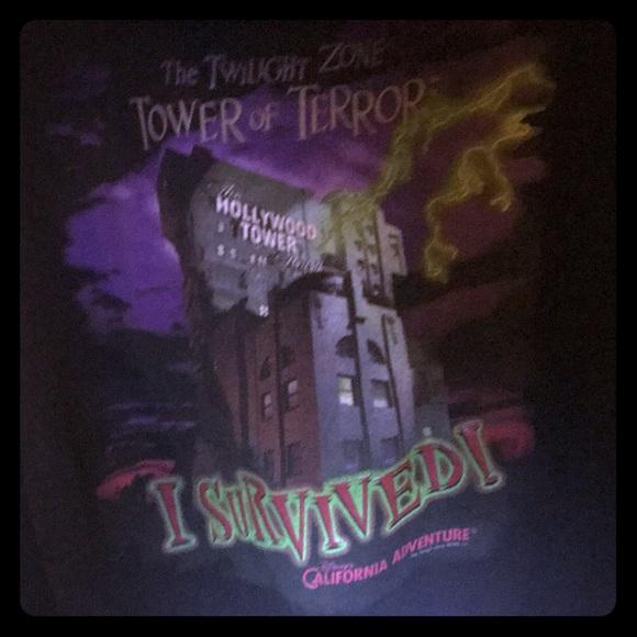 Disney Jackets & Blazers - Necessity for a Disney fan tower of terror hoodie